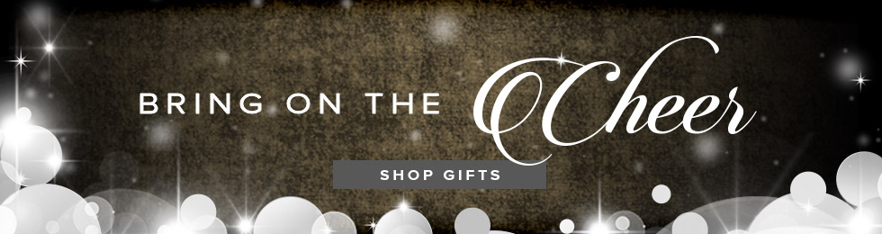 Picture of holiday theme. Bring on the cheer. Click to shop for gifts.