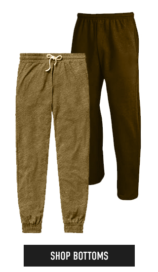 Picture of pants. Click to shop Bottoms.
